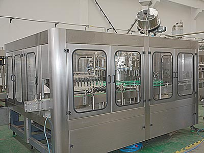 Soda Water Glass Bottle Filling Machine
