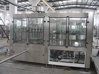 Milk Drink Hot Filling Equipment